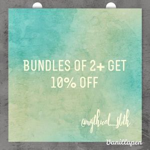 Other - Bundles get 10% off! Offers are welcome 🦄💕